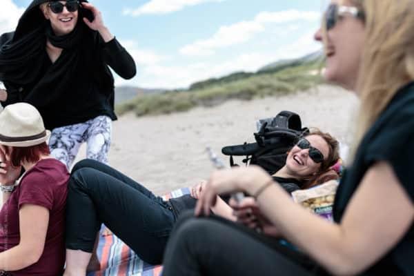 Photographer Mallorca - Time for a photo shoot break on the beach