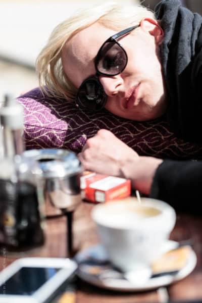 Photographer Mallorca - Markus Kenzie sleeping in the sun
