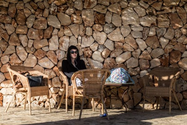 Photographer Mallorca Model Markus Kenzie is waiting